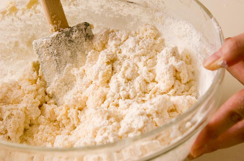 コーンフレーククッキーの作り方の手順2