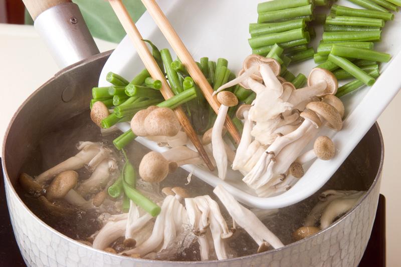 インゲンとツナのサラダの作り方1