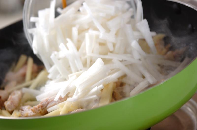 豚肉のポン酢和えの作り方の手順2
