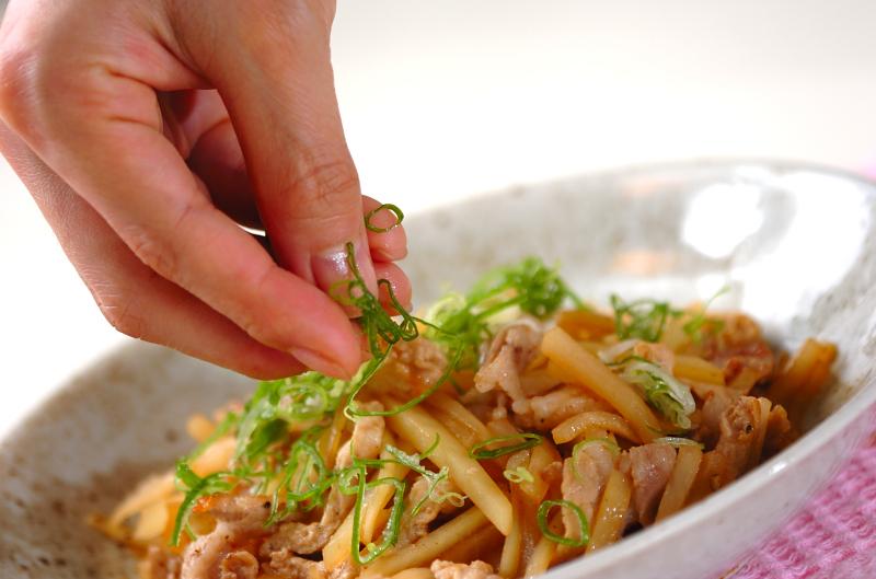 豚肉のポン酢和えの作り方の手順3