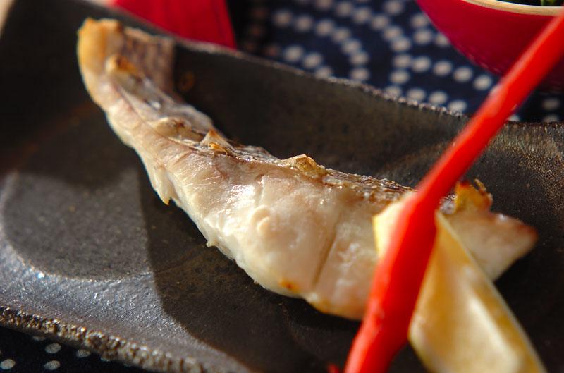 鯛のグリル塩焼きの作り方の手順