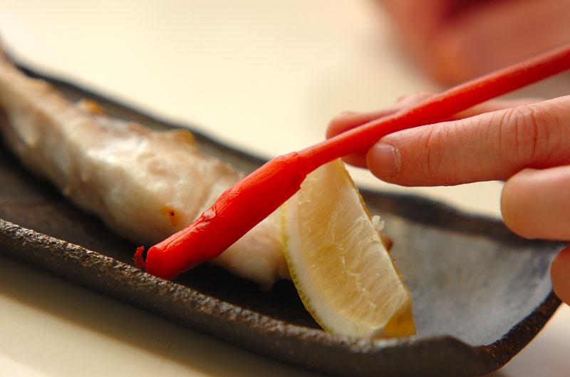 鯛のグリル塩焼きの作り方の手順5
