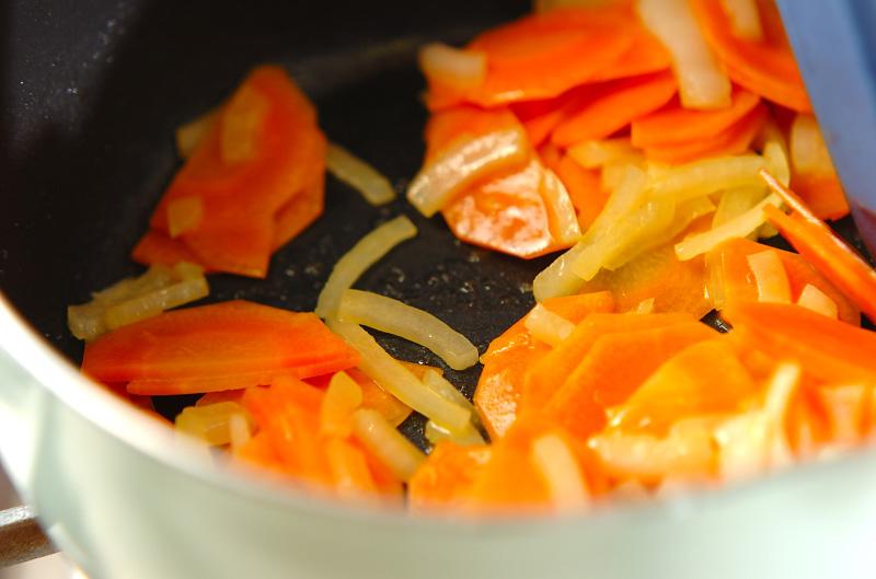 キャロットスープの作り方の手順3