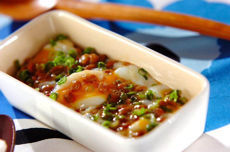 温泉卵納豆【E・レシピ】料理のプロが作る簡単レシピ/2008.11.10 ...