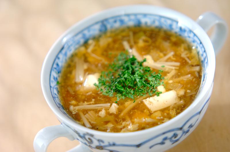 ささ身のスープの作り方の手順