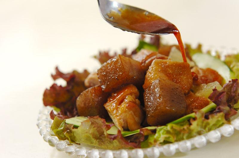 鶏照り焼きのサラダ仕立ての作り方の手順9