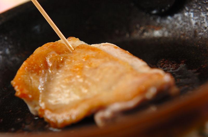 鶏照り焼きのサラダ仕立ての作り方の手順7