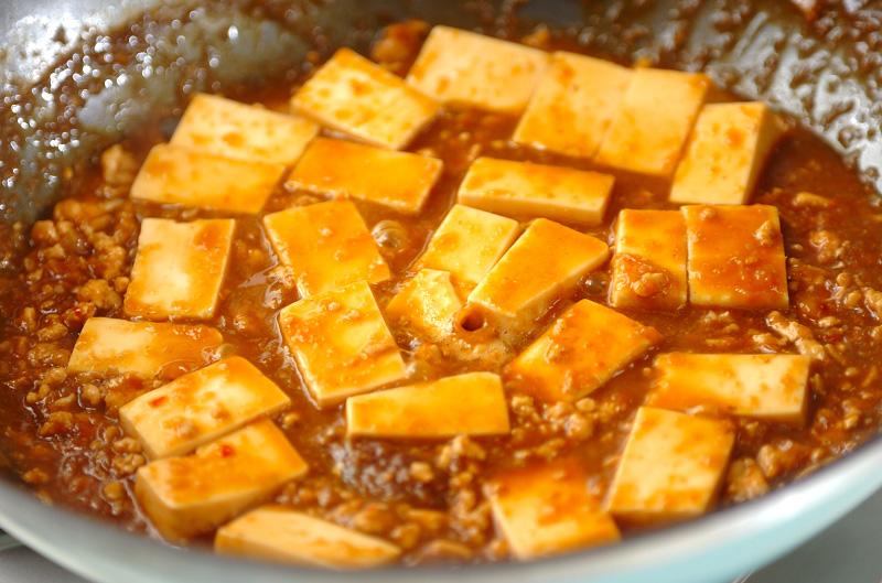 カレー風味大人の辛口麻婆豆腐の作り方3