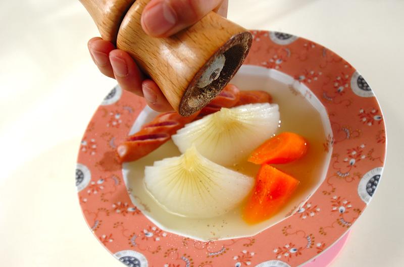 新玉ネギのコンソメ蒸しの作り方の手順6