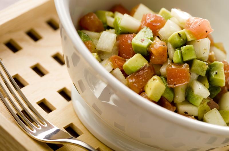 シンプルアボカドサラダ