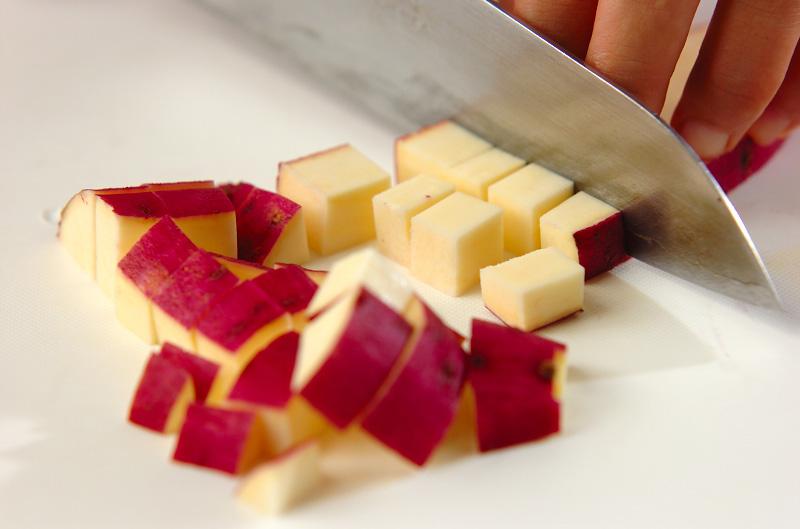 サツマイモご飯の作り方の手順2
