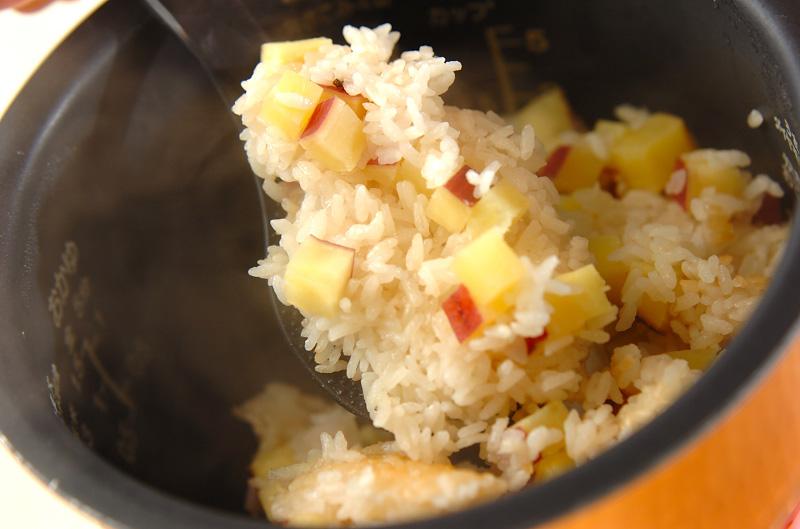 サツマイモご飯の作り方の手順4