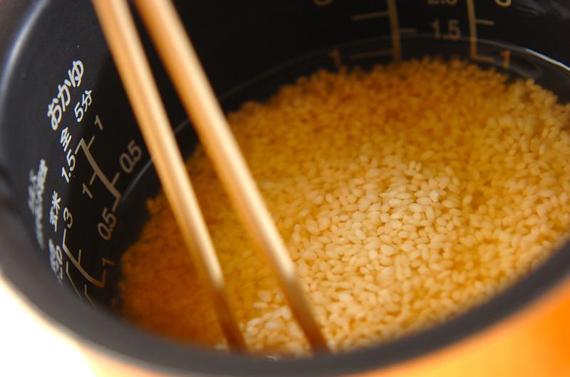 サツマイモご飯の作り方の手順3