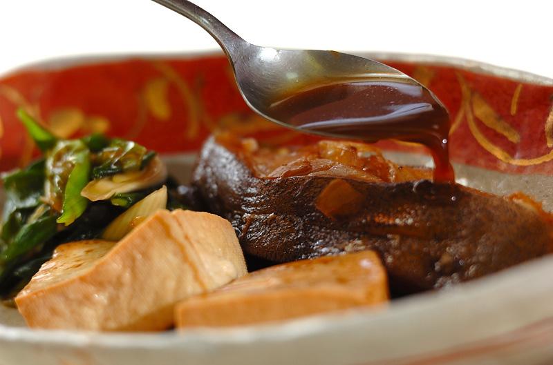カレイと豆腐の煮物の作り方3