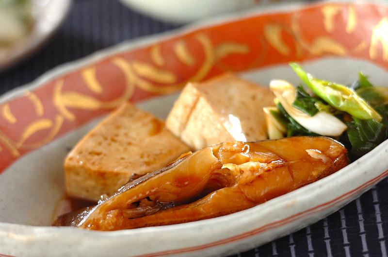 カレイと豆腐の煮物の作り方の手順