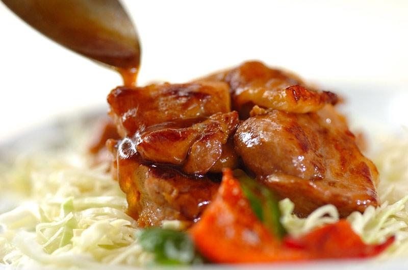 鶏肉のショウガ焼きの作り方の手順6