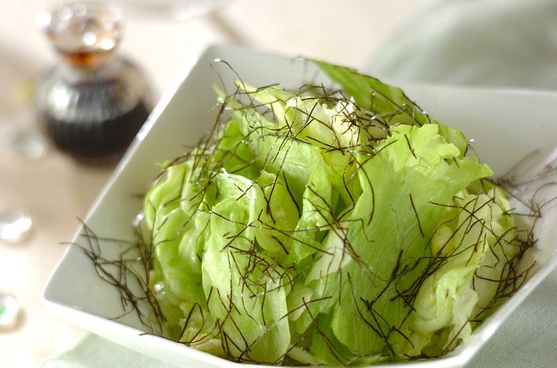 さっぱりレタス(副菜) レシピ・作り方 | 【E・レシピ】料理のプロが ...