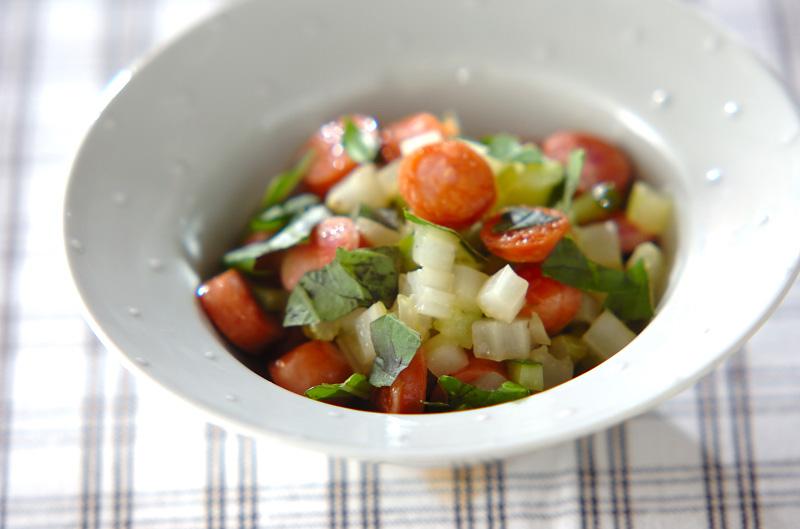 セロリのホットサラダ