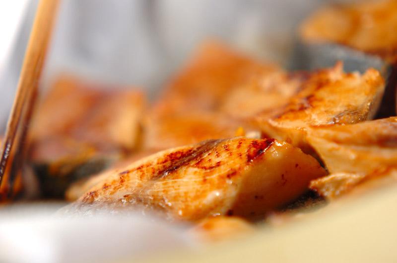 ブリのみそ風味焼きの作り方の手順4