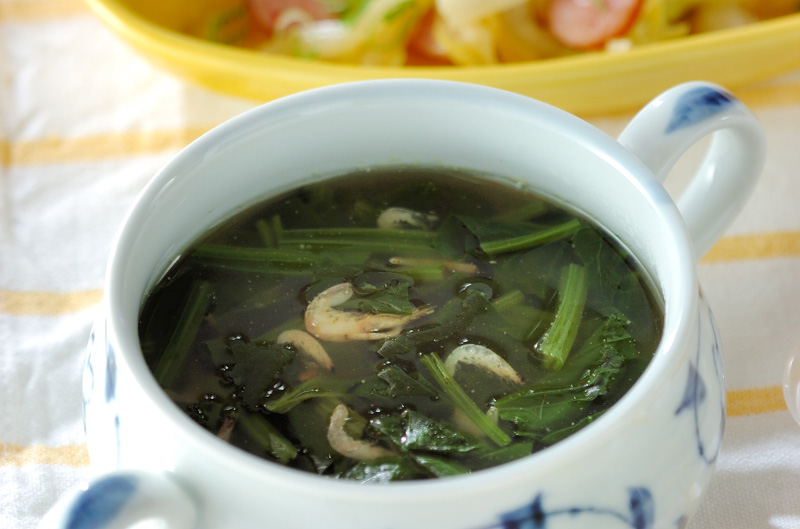 ホウレン草スープ
