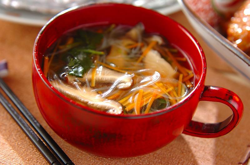 ヘルシー春雨スープ