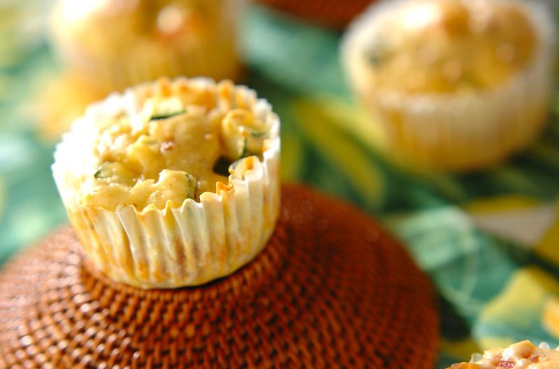 夏野菜のマフィン レシピ 作り方 E レシピ 料理のプロが作る簡単レシピ