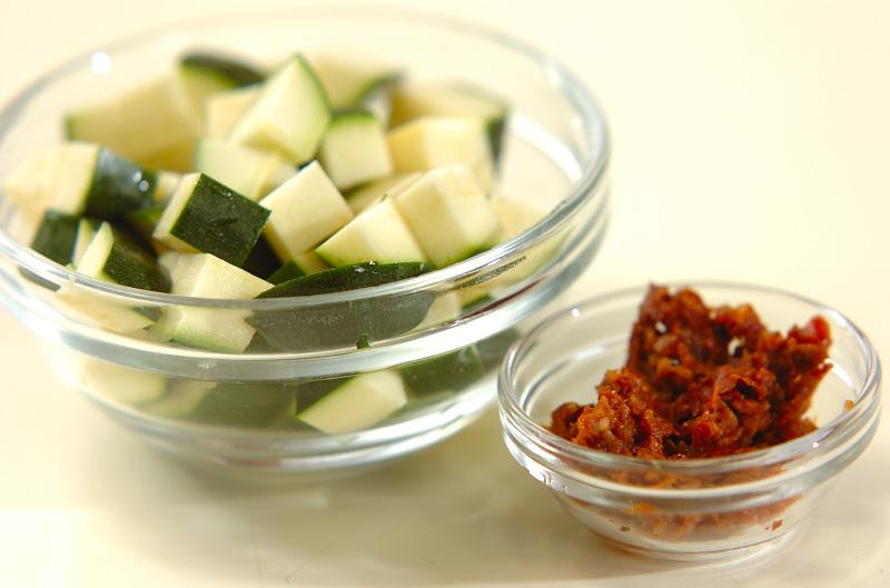 夏野菜のマフィンの作り方の手順3
