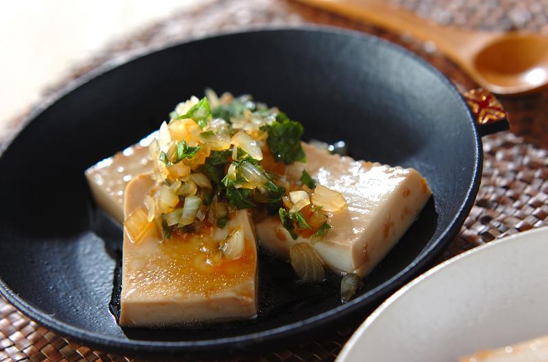豆腐のマリネ