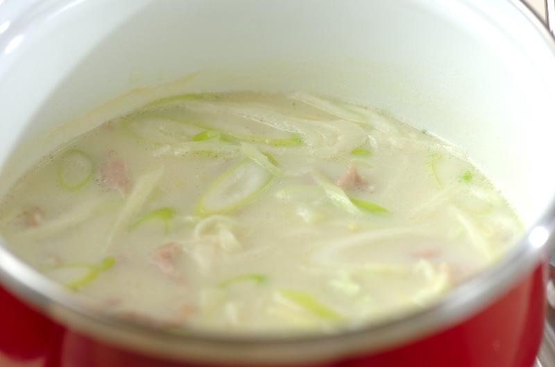 サムゲタン風スープご飯の作り方の手順6