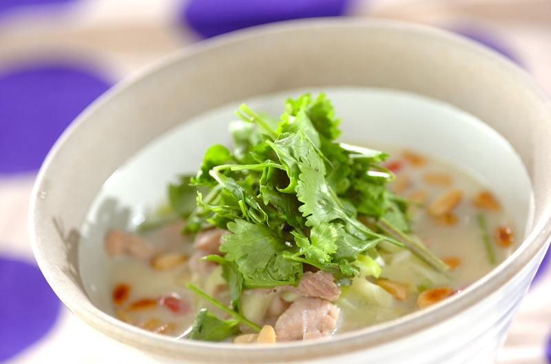 サムゲタン風スープご飯の作り方の手順
