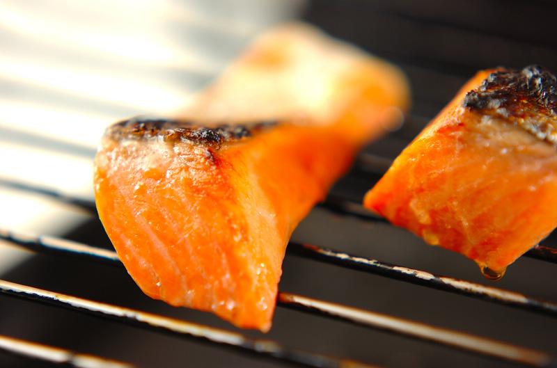 お魚のお弁当の作り方2
