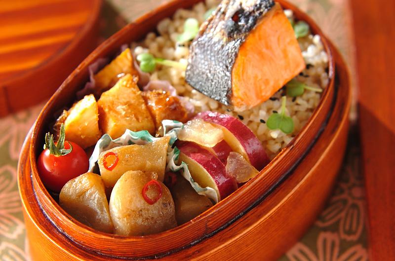 お魚のお弁当の作り方の手順