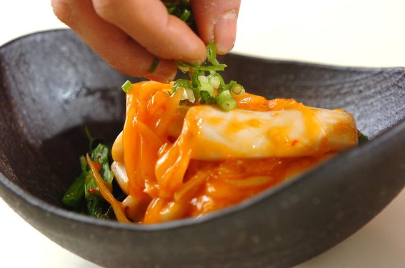 イカのピリ辛炒めの作り方の手順9