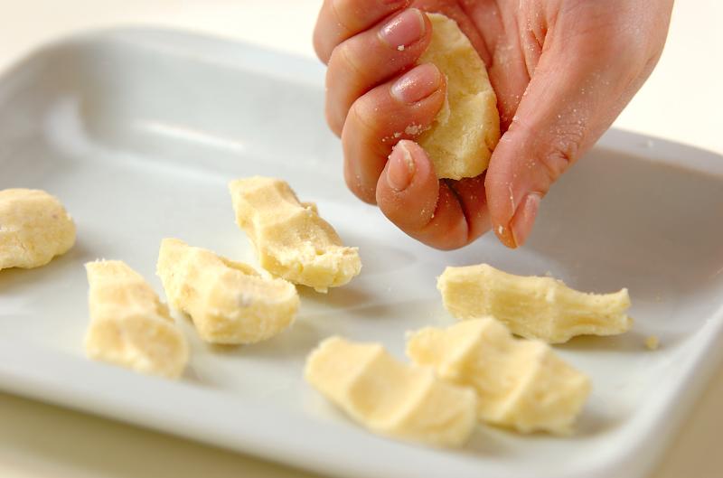 米粉のニョッキの作り方の手順4