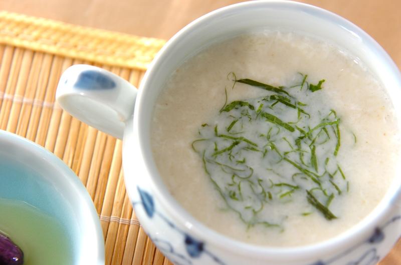 長芋の白いスープ