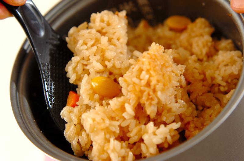 鶏肉の洋風炊き込みご飯の作り方の手順7