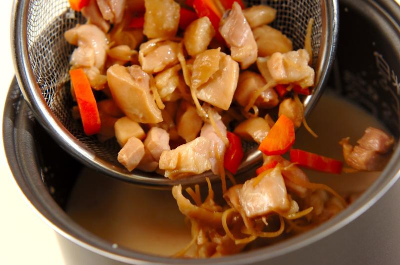 鶏肉の洋風炊き込みご飯の作り方の手順6