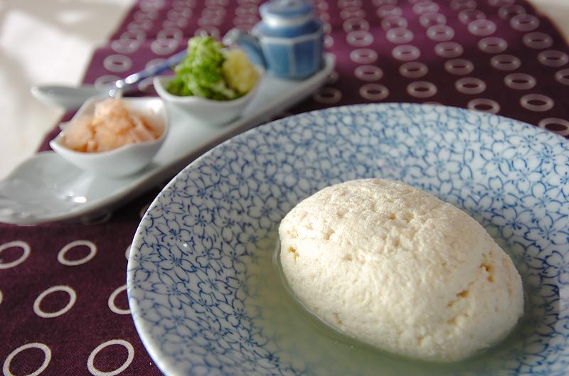 手作りしっかり豆腐