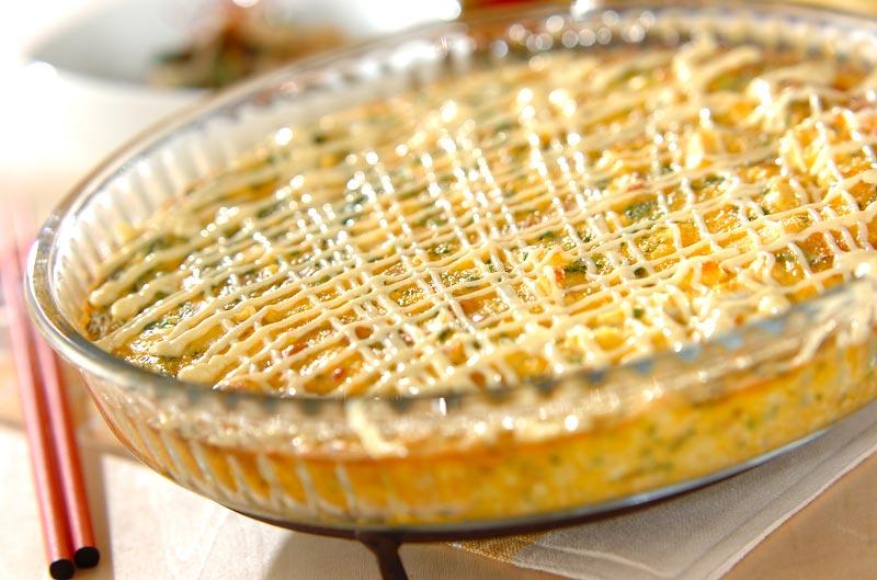 卵とツナのふんわり焼きの作り方の手順