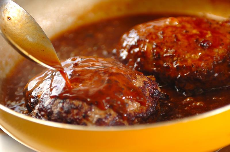 ジャンボハンバーグの作り方4