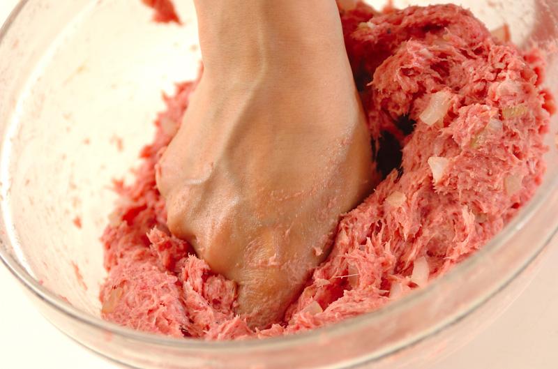 ジャンボハンバーグの作り方1