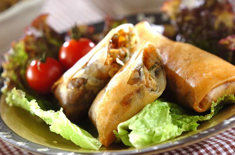 中華春巻き レシピ・作り方 | 【E・レシピ】料理のプロが作る簡単レシピ