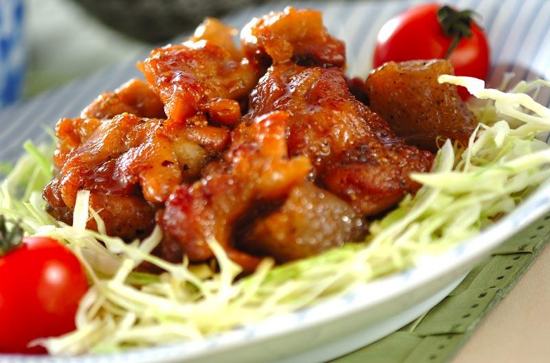 鶏肉のユズ照り焼き