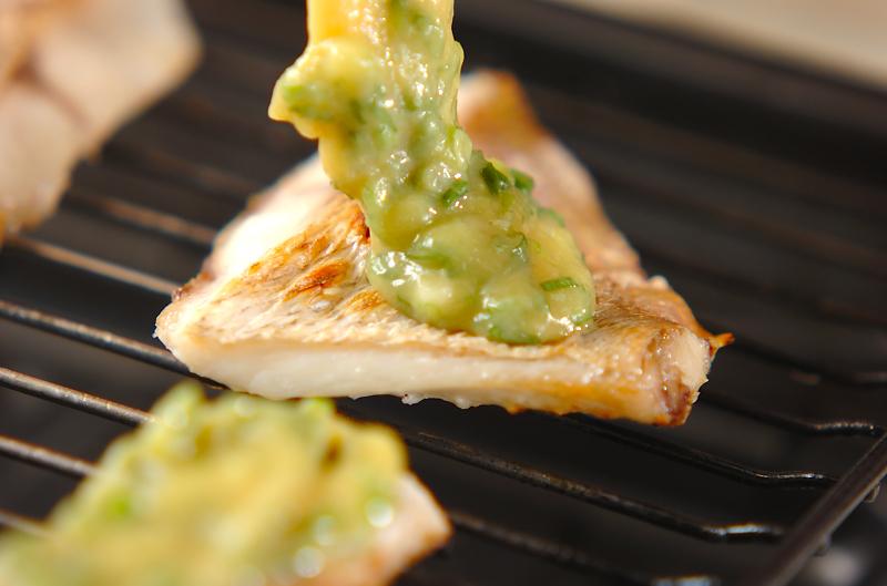 白身魚のネギみそ焼きの作り方の手順5