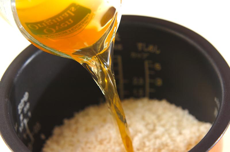 アオサご飯の作り方の手順4