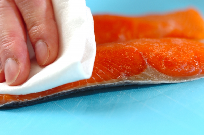 鮭とキノコのホイル焼きの作り方の手順1