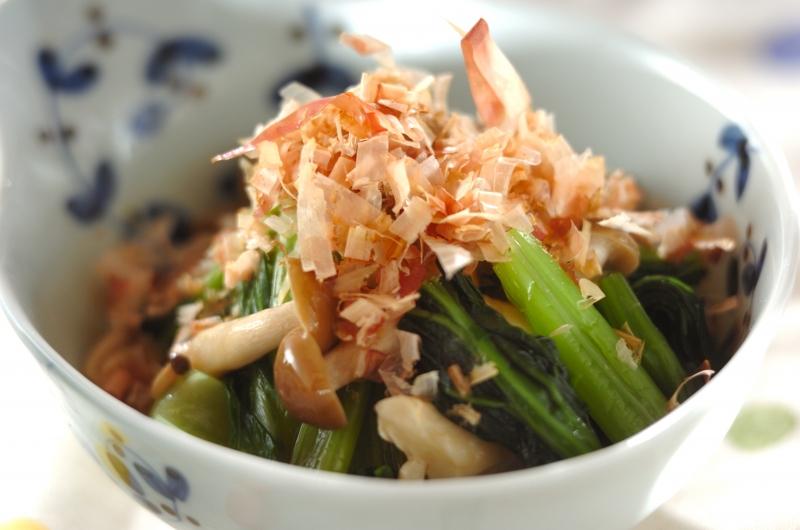 小松菜のおひたしの作り方の手順