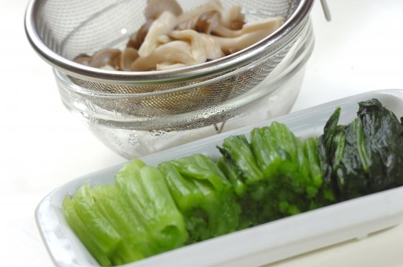 小松菜のおひたしの作り方の手順1