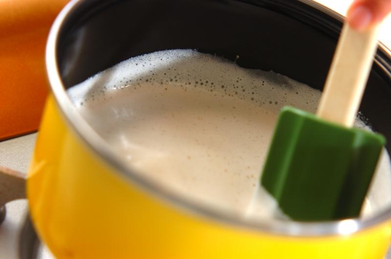 クルミ汁粉の作り方の手順4