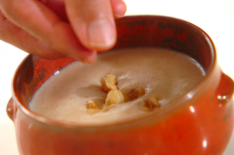 クルミ汁粉の作り方の手順5